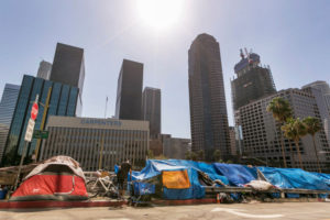 Report Claims that Los Angeles County's Homeless need more than Housing to stay off the Streets