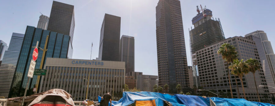 L.A. County's tax to help Homeless People is Currently too high for some Cities