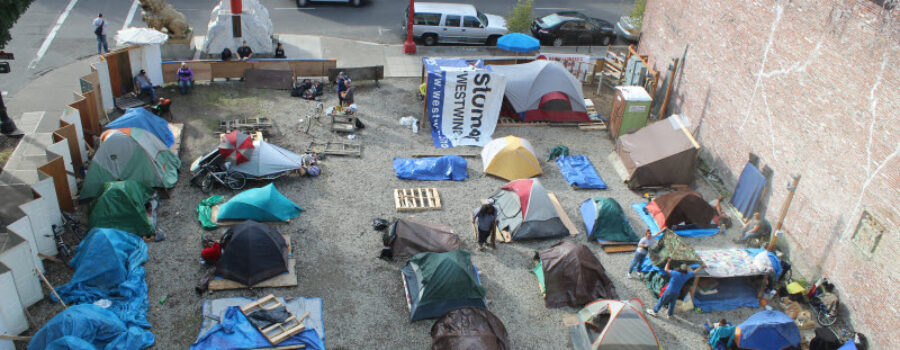 Surge in Homeless People in Sacramento