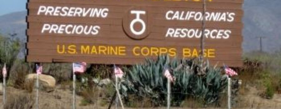 Camp Pendleton Agrees to Federal Decree after Rats and Frogs found in Water Supply