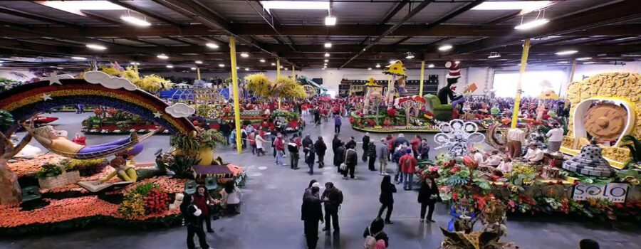 Rose Parade Floats can't Afford to Live in Pasadena