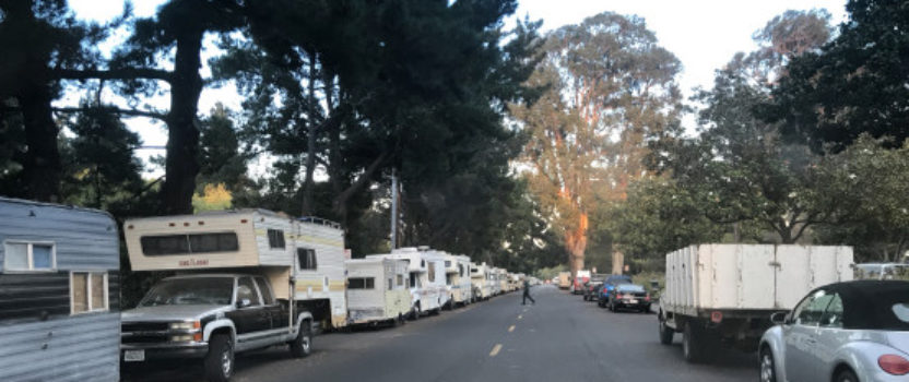 San Diego County's Homeless Count Questioned for not Including People Living in RVs