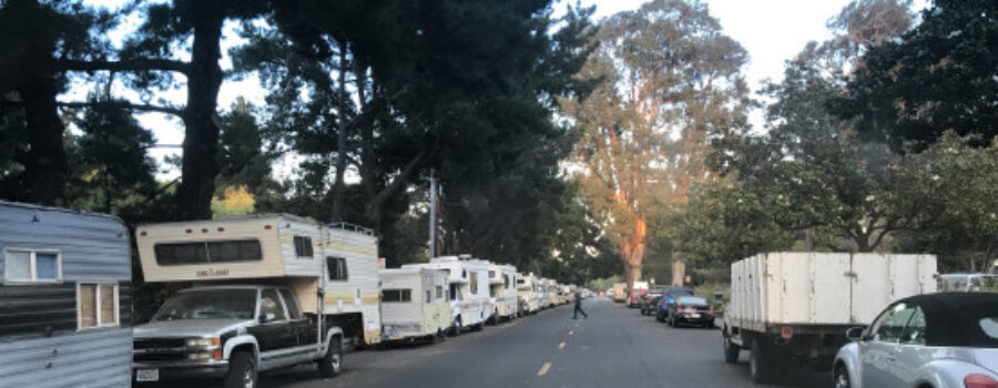 Bay Area Cities are Looking for a Solution for their Increased RV Issue