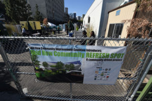 Bathrooms on skid row gone after only being open for three months